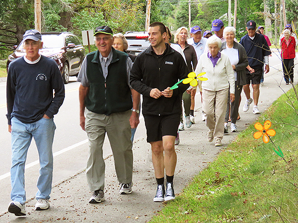 OceanView's On-Campus Alzheimer's Walk