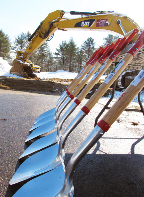BC Groundbreaking Shovels