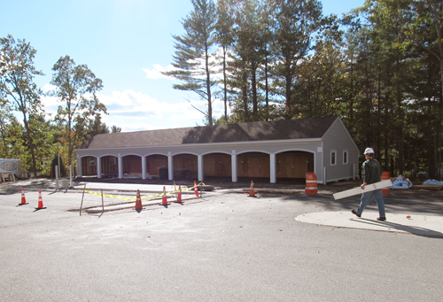 Expanded Parking Area & Upgraded Carport Nears Completion