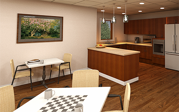 Falmouth House Expansion - Cafe Kitchen