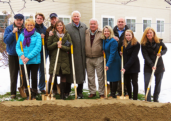 Falmouth House Expansion - Groundbreaking