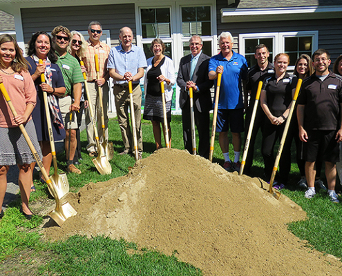 OceanView Fitness Pavilion Groundbreaking