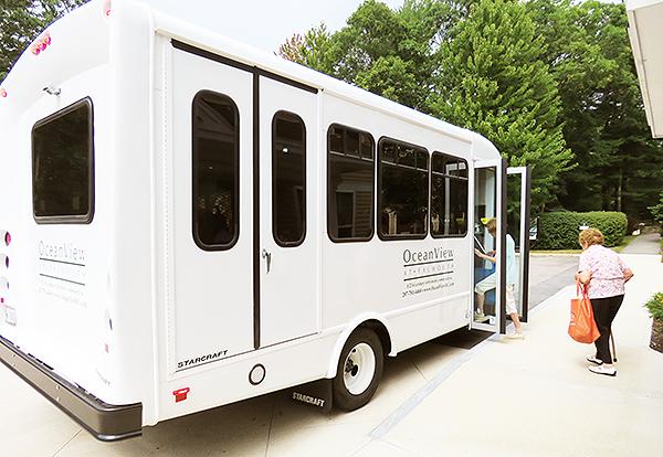 New Shuttle Van Boarding