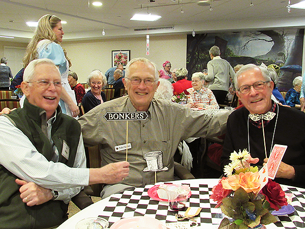Residents at 32 Anniversary Party