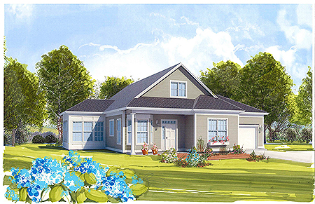 Schoolhouse Cottages B Rendering