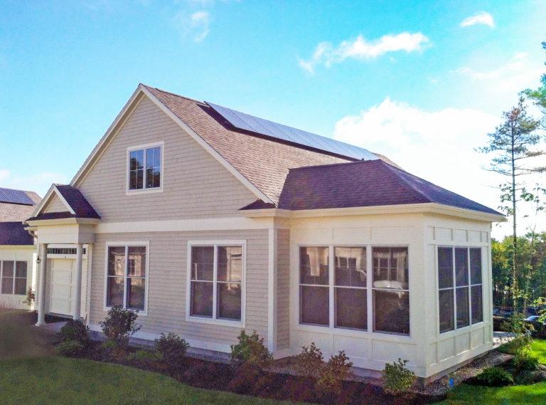 Schoolhouse Cottages Solar Panels