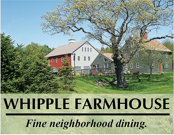 Whipple Farmhouse - Fine neighborhood dining.
