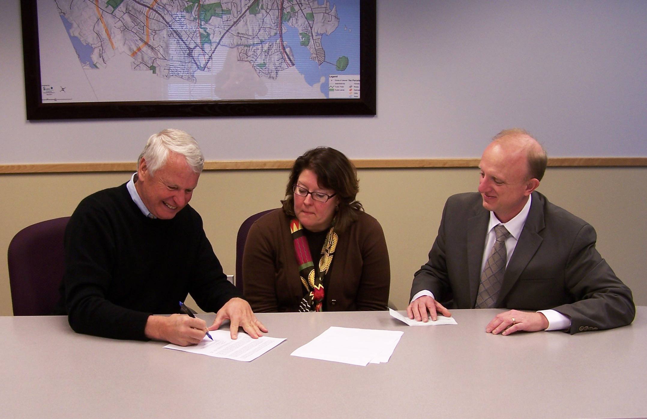OceanView Owner, John Wasileski, Signs Agreement to Purchase School Property From Town of Falmouth