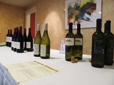 Presidential Dinner Wine Supplier Presents at OceanView