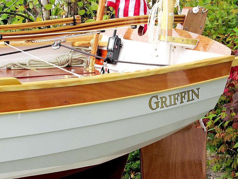 OceanView resident Tom's boat he named Griffin.