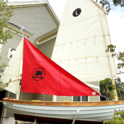OceanView Resident Launches Boat Built in His Cottage