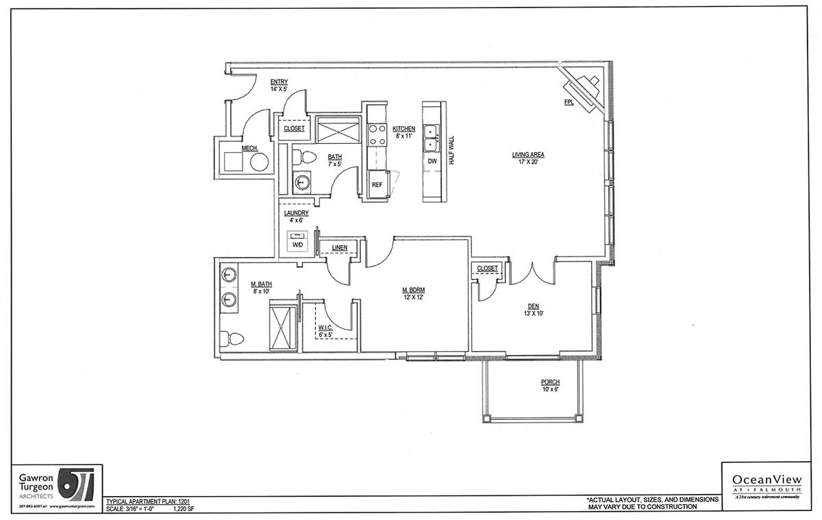 Blueberry Commons Floor Plan