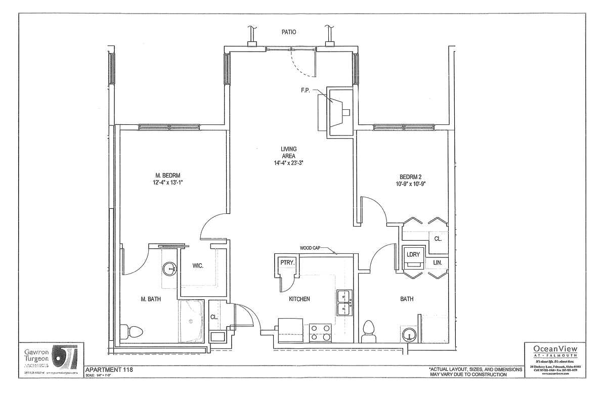 Main Lodge Expansion Floor Plan