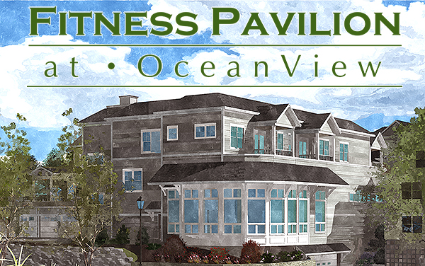 Fitness Pavilion Exterior Rendering