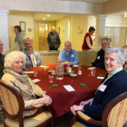 OceanView residents enjoying our Annual Soup Challenge.