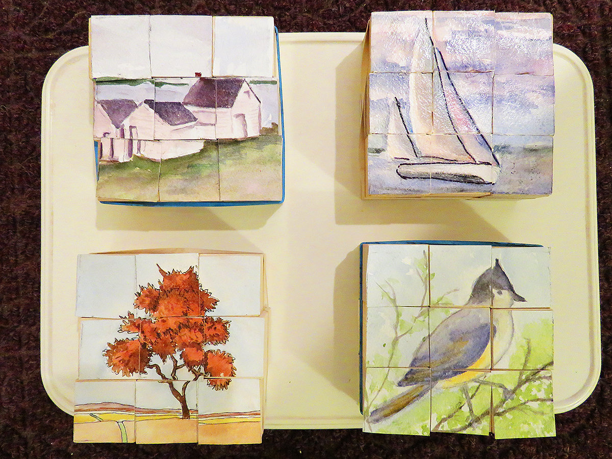 Jane's Painting Puzzles