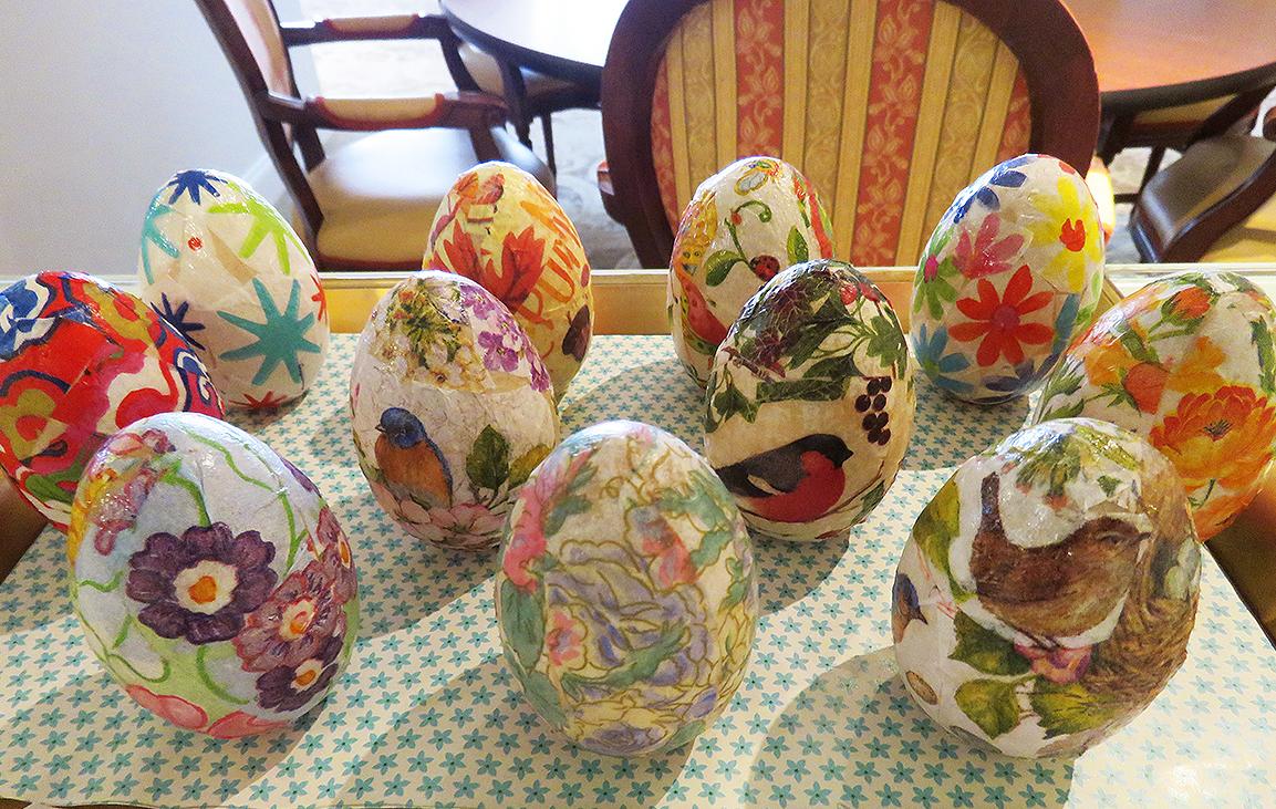 Verna's Eggs