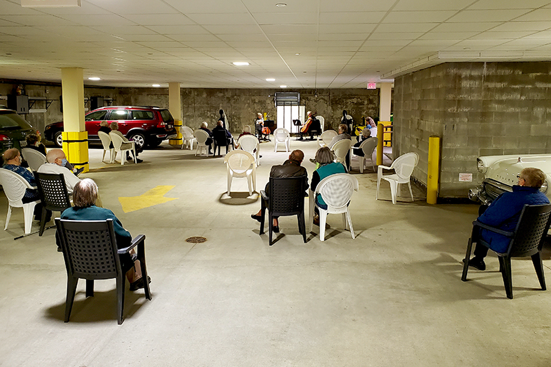 Parking Garage Concert