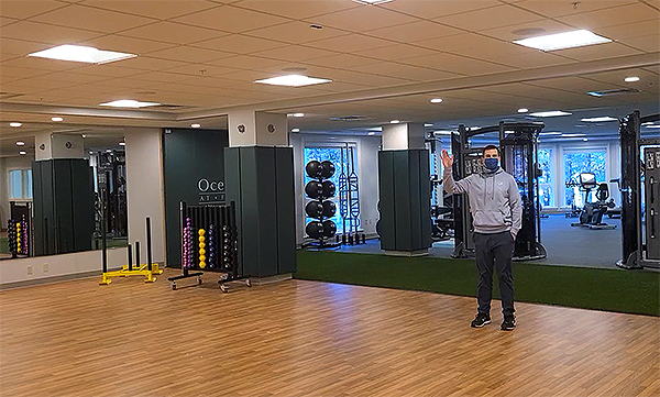 Hager Fitness Pavilion Interior