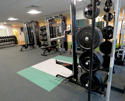 Weight Stacks and Bench