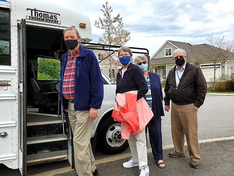 OceanView Residents Depart for Children's Museum and Theater of Maine