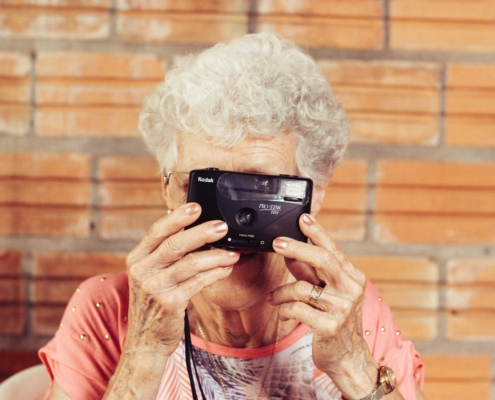 photography memory care for senior