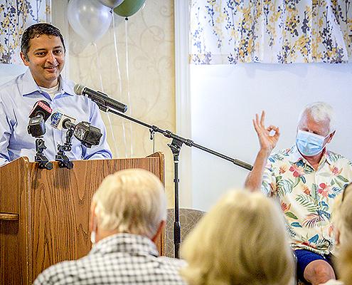 Maine CDC Director Doctor Nirav Shah