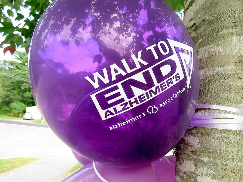 Walk to End Alzheimer's Balloon